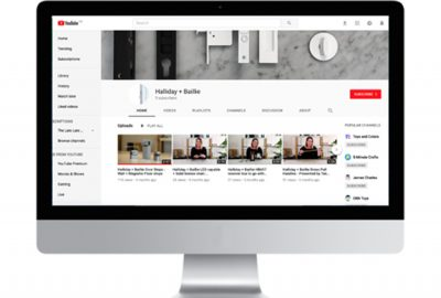 Halliday + Baillie launch youtube channel